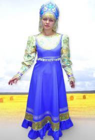 русское народное свадебное платье.